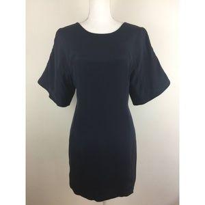 Rebecca Minkoff Dark Blue Fully Lined Silk Dress